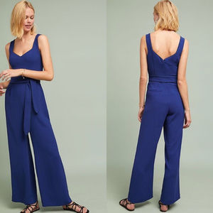 Anthropologie The Essentials Belted Jumpsuit 0